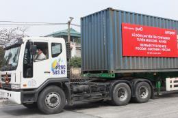 Lần đầu tiên đường sắt mở tuyến vận tải container từ Nga về Việt Nam