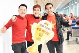 Sao Việt nô nức đi cổ vũ cho đội tuyển U23 Việt Nam