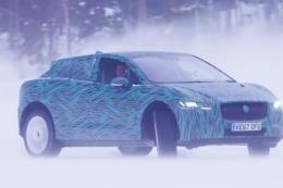 Mẫu xe chạy hoàn toàn bằng điện I-PACE của Jaguar sẽ ra mắt vào tháng 3 tới