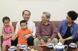 Chủ tịch nước Trần Đại Quang: Tiếp tục làm tốt hơn nữa việc chăm lo đời sống cho người dân