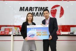 Bất ngờ nhận chuyến du lịch Mỹ 'cực chất' khi mở thẻ Maritime Bank Visa