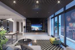 Dấu ấn sành điệu của chủ nhân thể hiện trong thiết kế nội thất căn hộ 5 sao bên Hồ Tây
