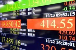 Chứng khoán Nhật Bản lại lao dốc