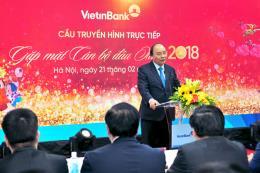VietinBank vinh dự đón Thủ tướng Chính phủ thăm và chúc Tết