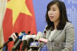 Yêu cầu Trung Quốc chấm dứt ngay việc cho máy bay ném bom diễn tập trên quần đảo Hoàng Sa