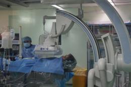 Cần Thơ điều trị thành công ho ra máu bằng kỹ thuật chụp số hóa xóa nền