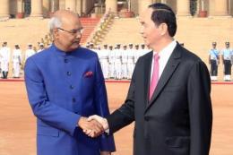 Dư luận Ấn Độ đánh giá cao chuyến thăm cấp Nhà nước của Chủ tịch nước Trần Đại Quang
