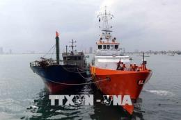 Đà Nẵng: Cứu nạn và lai dắt thành công tàu cá cùng 11 ngư dân gặp nạn