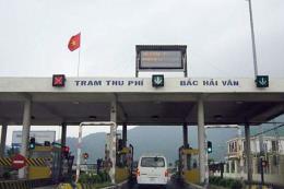 Bộ Giao thông Vận tải kiến nghị dùng chung trạm BOT Bắc Hải Vân cho 2 dự án
