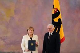 Thủ tướng Đức Merkel tuyên thệ nhậm chức nhiệm kỳ thứ 4
