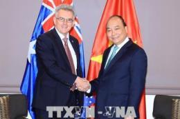 Thủ tướng Nguyễn Xuân Phúc tiếp Chủ tịch Hội Hữu nghị Australia – Việt Nam