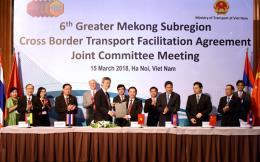 Tạo thuận lợi cho lưu thông người và hàng hóa qua biên giới các nước tiểu vùng Mê Công