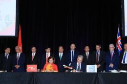 Thủ tướng Nguyễn Xuân Phúc dự lễ công bố mở đường bay thẳng Việt Nam - Australia