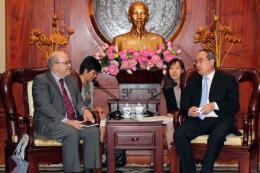 Thành phố Hồ Chí Minh tăng cường hợp tác cùng Quỹ Tiền tệ Quốc tế