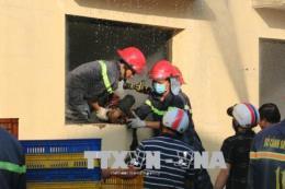 16 giờ chiến đấu với giặc lửa vụ cháy tại Khu công nghiệp Biên Hòa 2