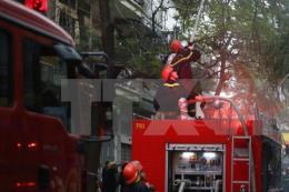 Cứu kịp thời 3 người trong một đám cháy ở TP. Hồ Chí Minh