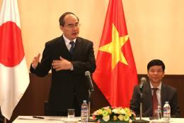 Tp. Hồ Chí Minh mong muốn nhà đầu tư Nhật Bản đầu tư vào cơ sở hạ tầng và công nghệ cao