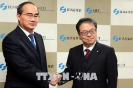 Bí thư Thành ủy thành phố Hồ Chí Minh Nguyễn Thiện Nhân thăm và làm việc tại Nhật Bản