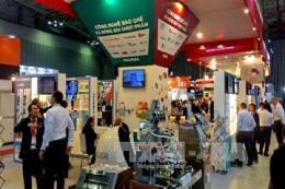 Khai mạc chuỗi triển lãm quốc tế chuyên ngành nhựa cao su Việt Nam
