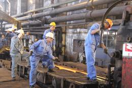 Cơ hội mới cho người lao động tại Công ty cổ phần luyện cán thép Gia Sàng