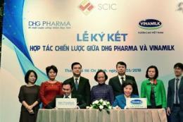 Vinamilk và Công ty Cổ phần Dược Hậu Giang hợp tác nghiên cứu phát triển sản phẩm