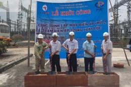 Lắp máy biến áp 220 kV thứ 2 tại trạm biến áp Xuân Lộc