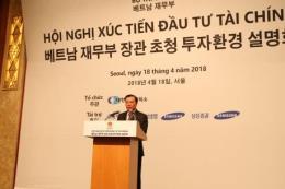 Bộ Tài chính xúc tiến đầu tư tại Hàn Quốc