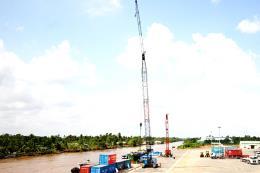 Cảng Sóc Trăng công suất 750.000 tấn chính thức hoạt động