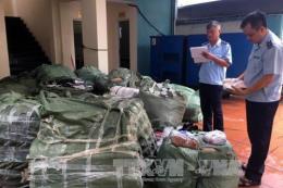 Lực lượng hải quan tham gia bắt giữ nhiều vụ hàng lậu