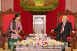 Toàn văn Tuyên bố chung Việt Nam - Myanmar