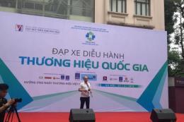 Đạp xe diễu hành nhân tuần lễ Thương hiệu Quốc gia Việt Nam 2018