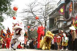 Mở màn Lễ hội văn hóa dân gian Phố Hiến