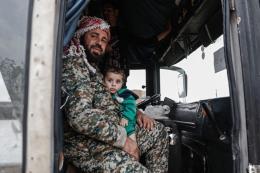 Syria: Các nhóm nổi dậy tiếp tục rút khỏi các địa bàn gần Damascus