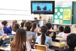Hơn 34% khán giả truyền hình Hàn Quốc theo dõi trực tiếp cuộc gặp thượng đỉnh liên Triều