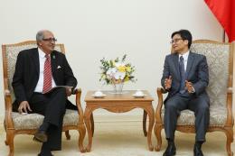 Phó Thủ tướng tiếp lãnh đạo Liên minh các tổ chức CNTT và truyền thông Châu Á-TBD