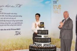 """Tập đoàn TH ra mắt nước giải khát lên men tự nhiên từ mầm lúa mạch """" TH true MALT"""""""
