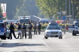 Nổ súng gây thương vong tại Đức