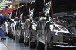 Nhập khẩu ô tô nguyên chiếc vào Việt Nam giảm mạnh