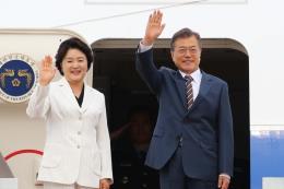 Tổng thống Hàn Quốc thăm Mỹ