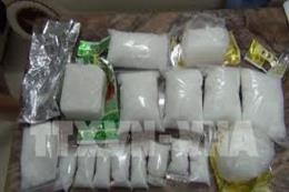 Thanh Hóa bắt giữ 2 đối tượng vận chuyển trái phép 60 bánh heroin