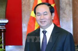 Chủ tịch nước Trần Đại Quang và Phu nhân sẽ thăm cấp Nhà nước tới Nhật Bản