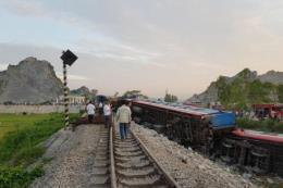 Khẩn trương khắc phục hậu quả tai nạn đường sắt tại Thanh Hóa