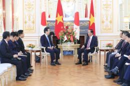 Chủ tịch nước Trần Đại Quang tiếp Chủ tịch Đảng Công Minh của Nhật Bản