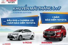 Bảng giá xe Toyota tháng 6/2018 cùng khuyến mãi