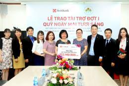 SeABank trao hơn 122 triệu đồng ủng hộ quỹ Ngày mai tươi sáng