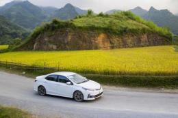 Sản xuất lắp ráp và tiêu thụ xe Toyota trong nước đều tăng mạnh