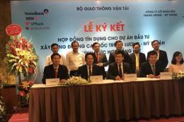 Ký hợp đồng tài trợ xây dựng cao tốc Trung Lương - Mỹ Thuận