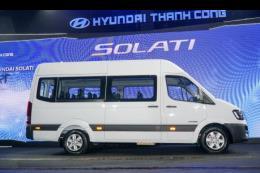 Hyundai ra mắt thị trường Việt xe khách Solati 16 chỗ giá 1,080 tỷ đồng