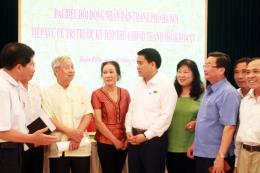 Đề xuất nhiều vấn đề cấp thiết với đoàn đại biểu HĐND thành phố Hà Nội