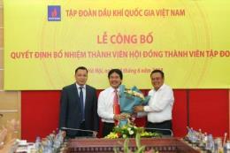 Ông Nguyễn Hùng Dũng được bổ nhiệm vào Hội đồng Thành viên PVN